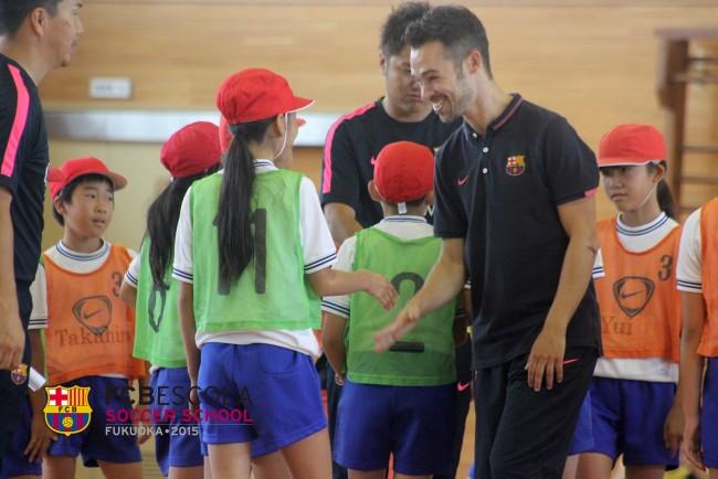 訪問サッカー教室 バルセロナスクール福岡校