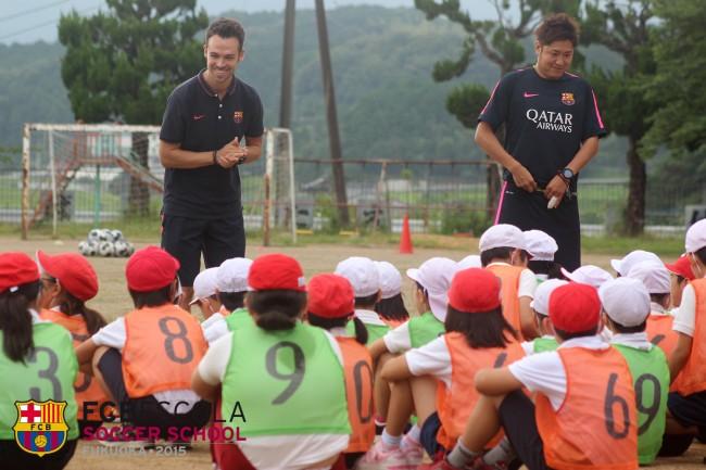 真崎小学校 訪問サッカー教室